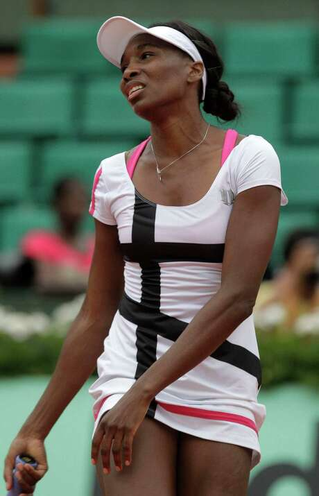 Venus Williams is unseeded at Wimbledon for the first time since her 1997 debut at the All England Club. Photo: AP