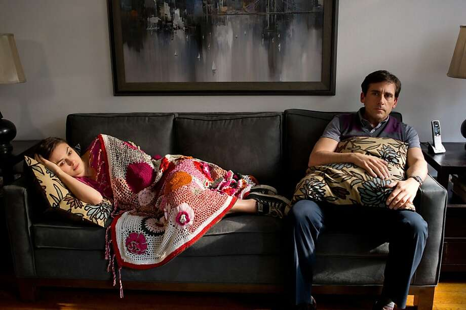 (l to r.) Keira Knightley stars as Penny and Steve Carell stars as Dodge in Lorene Scafaria's SEEKING A FRIEND FOR THE END OF THE WORLD, a Focus Features release. Photo: Darren Michaels, Focus Features
