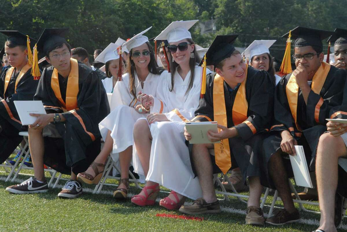 Stamford High School Graduation on Wednesday June 20, 2012 in Stamford, Conn.