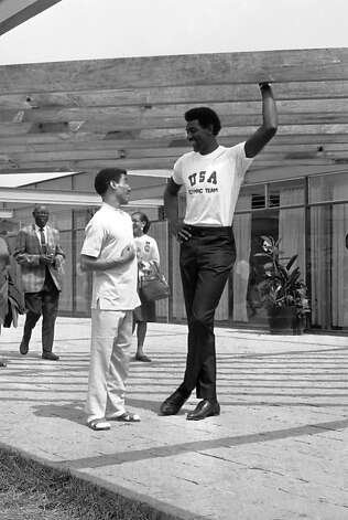 Spencer Haywood, member of the United States basketball team which has reached the finals in the Mexico City Olympic games,  in the Olympic Village in Mexico City on Oct. 23, 1968. (AP Photo) Photo: Anonymous, ASSOCIATED PRESS