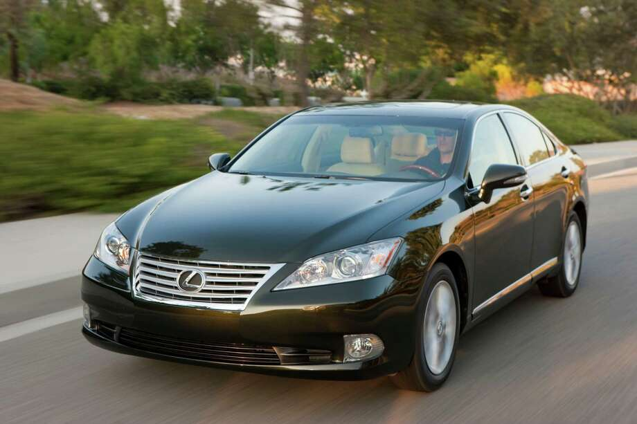 This undated photo provided by Toyota shows a 2012 Lexus ES 350. Lexus makes the best-quality cars in the U.S., and automakers overall are much better at eliminating problems that land vehicles in the repair shop, according to a survey of 2012 models by research firm J.D. Power and Associates. (AP Photo/Lexus) Photo: Uncredited