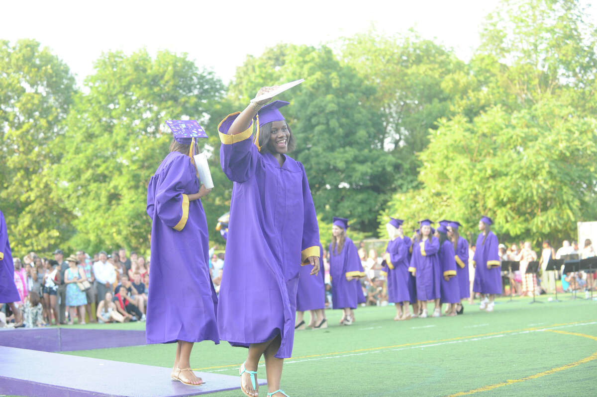 Westhill High School Class of 2012 Commencement Exercises in Stamford, Conn., June 20, 2012.