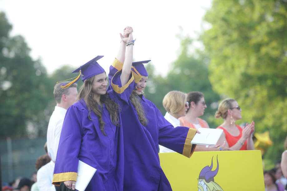 Westhill High School Class of 2012 Commencement Exercises in Stamford, Conn., June 20, 2012. Photo: Keelin Daly / Stamford Advocate