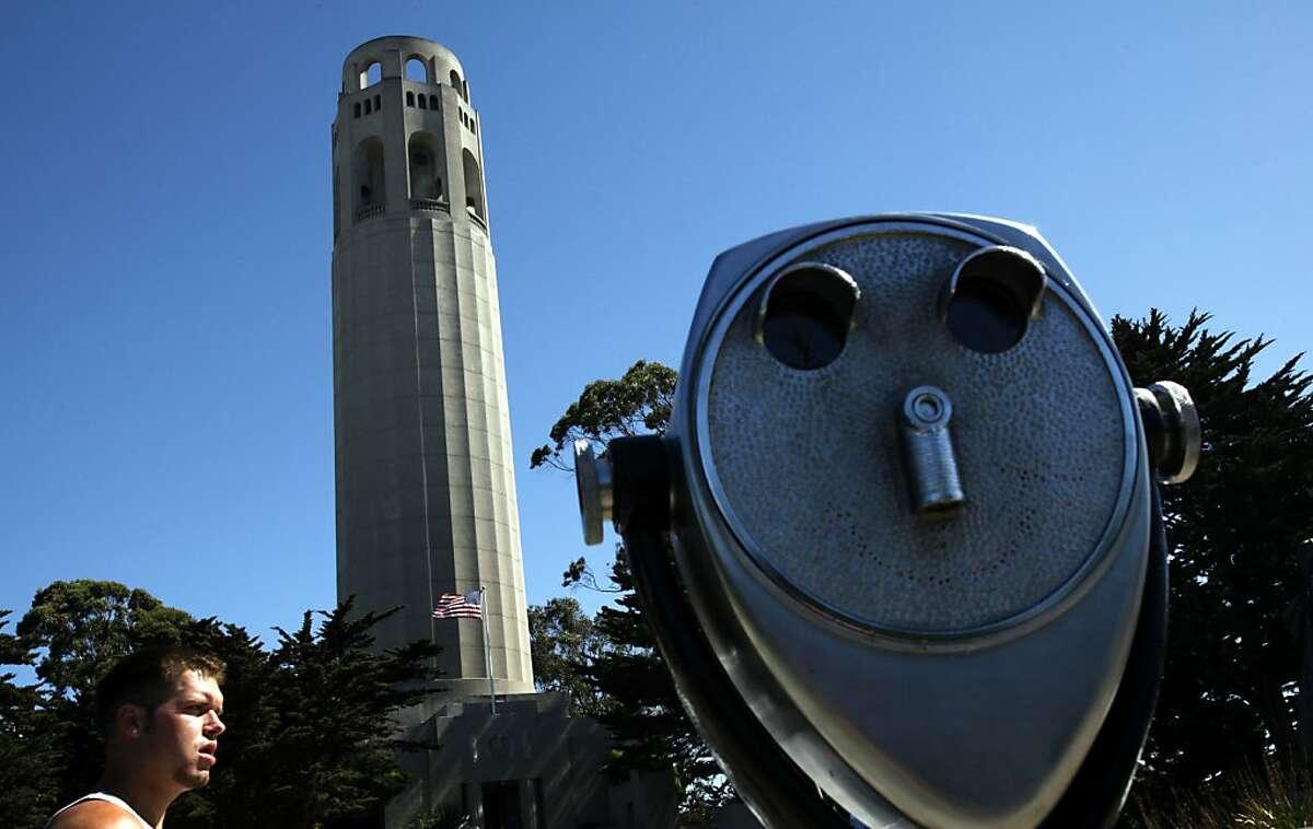 San Francisco's Coit Tower.