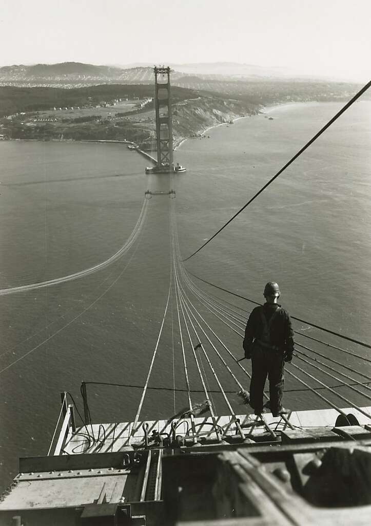 83 years ago today, construction started on the Golden Gate Bridge ...