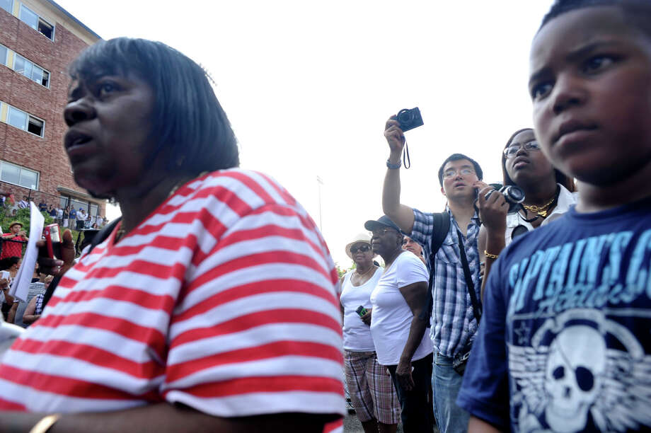 Scenes from the Danbury High School graduation on Wednesday, June 20, 2012. Photo: Jason Rearick / The News-Times
