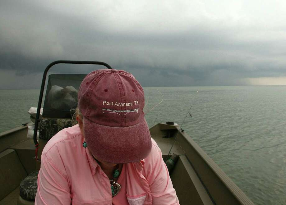 Boaters on Texas coastal waters regularly face summer thunderstorms that can produce lightning and rough conditions. Photo: Picasa
