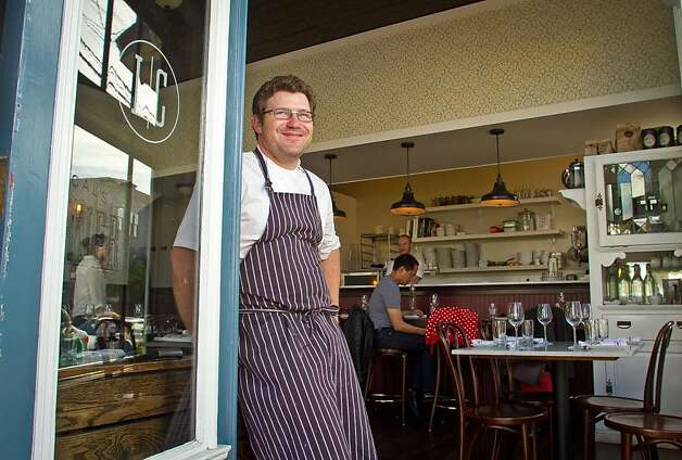 Chef Jake Des Voignes at Local's Corner restaurant in San Francisco, Calif., is seen on Friday, June 15th, 2012. Photo: John Storey, Special To The Chronicle