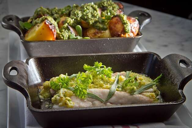 Rock Cod with Potatoes at Local's Corner restaurant in San Francisco, Calif., is seen on Friday, June 15th, 2012. Photo: John Storey, Special To The Chronicle