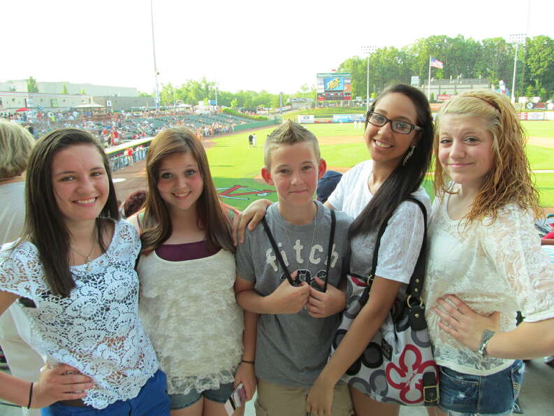 Were you Seen at the Tri-City ValleyCats home opener on Wednesday, June 20, 2012 at the Joseph L. Br
