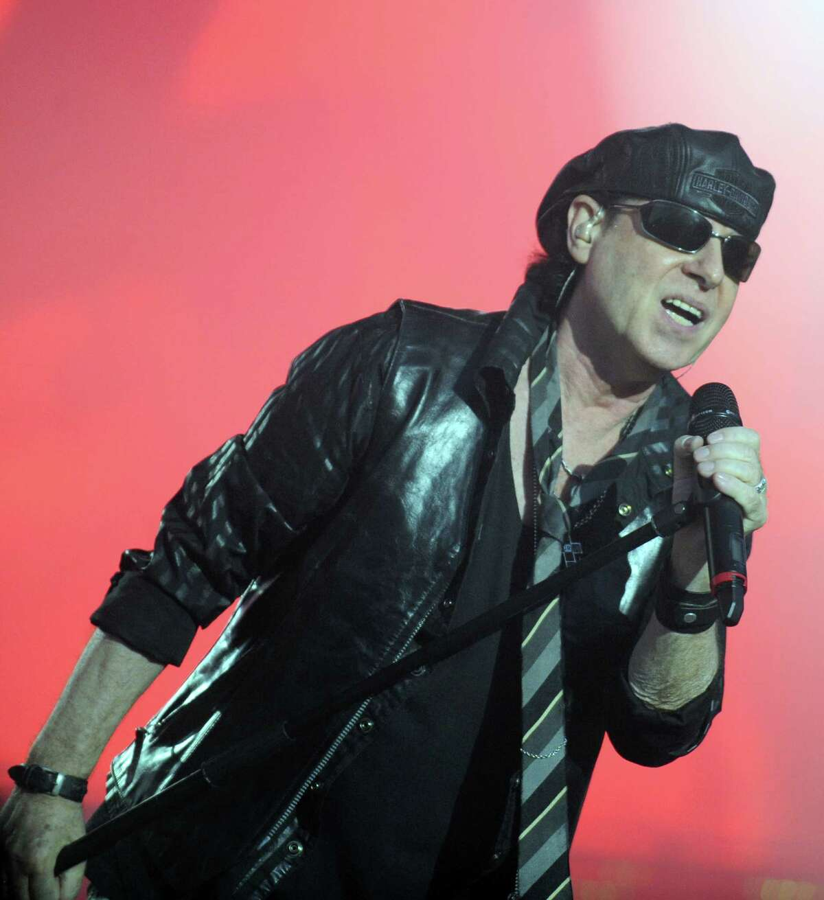 Klaus Meine will keep Scorpions on the road as long as this crazy world needs them.