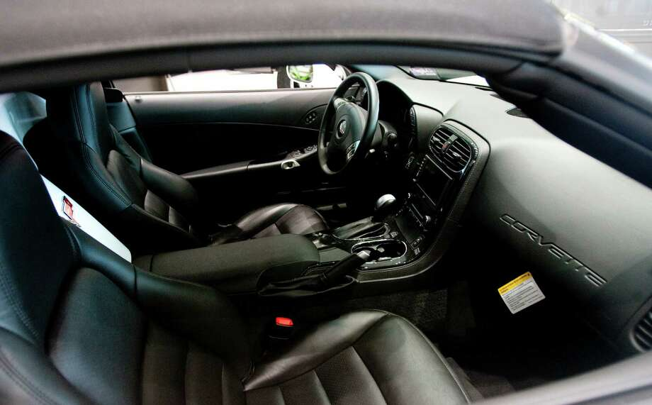 A Corvette interior is seen at Munday Chevrolet on Thursday, May 31, 2012, in Houston. Photo: Cody Duty / © 2011 Houston Chronicle