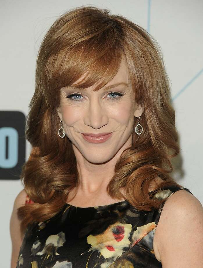 """""""Kathy"""" star Kathy Griffin attends the Bravo network 2012 upfront presentation on Wednesday, April 4, 2012 in New York. Photo: Evan Agostini, Associated Press"""