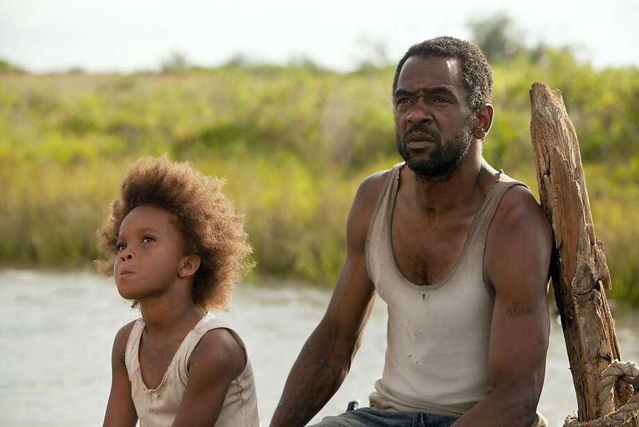 "Quvenzhane Wallis as ""Hushpuppy"" and Dwight Henry as ""Wink"" on the set of BEASTS OF THE SOUTHERN WILD BOTSW_Day3 (421 of 279).CR2 Photo: Jess Pinkham, Fox Searchlight"