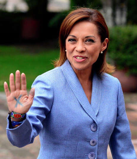 Mexican presidential candidate for the National Action Party (PAN in Spanish) Josefina Vazquez Mota