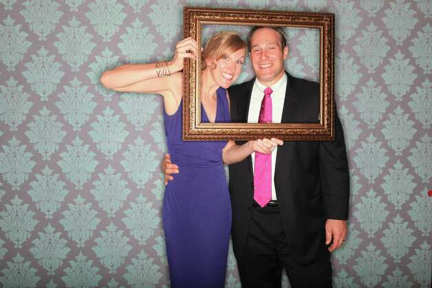 Kristi and Rich Barlette in an Elario photobooth. Taken June, 2012. Courtesy of Elario Photography Photo: Jp Elario