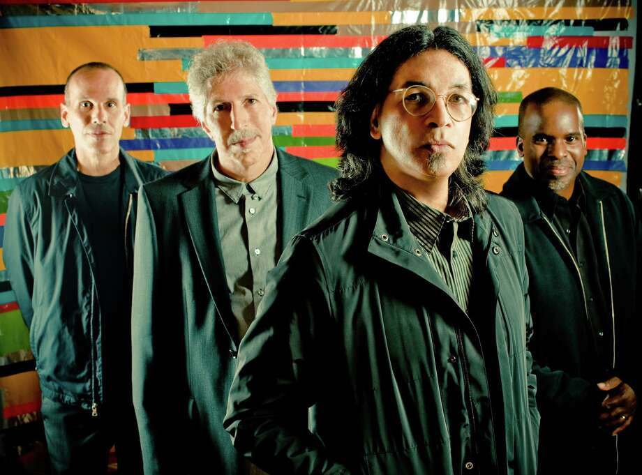 Yellowjackets are Russell Ferrante, keyboards; Bob Mintzer, saxophone; Jimmy Haslip, bass; and Will Kennedy, drums. For the SPAC show, Haslip will be replaced by Felix Pastorious.(Courtesy SPAC)