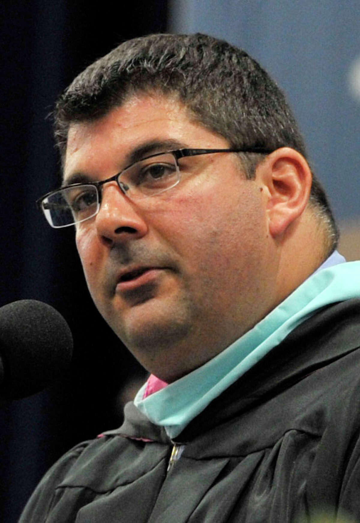 Christopher Troetti is the new principal of Bethel High School. Photographed on Wednesday, June 13, 2012.