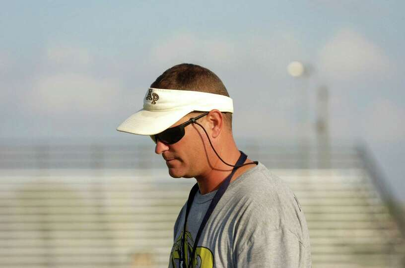 Anahuac head football coach Darrell Barbay is preparing his team for an emotional matchup against Ne