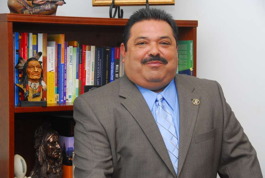 Rey Madrigal had been serving as Harlandale's assistant superintendent for operations before being chosen as the district's interim superintendent. Photo: Harlandale Independent School District