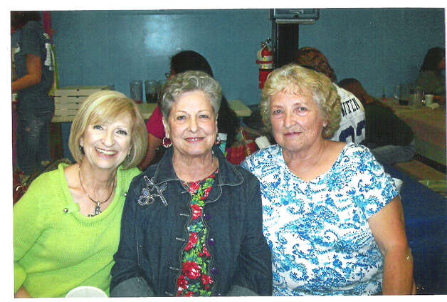 Sandra (Warren) Mitchel (left), Louise (Warren) Lacey and Barbara (Warren) Story in 2012. Photo: COURTESY