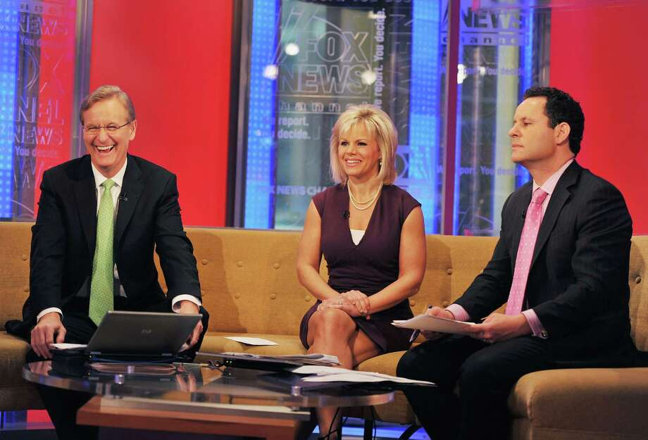 NEW YORK, NY - APRIL 20:  (L-R) FOX & Friends hosts Steve Doocy, Gretchen Carlson and Brian Kilmeade at FOX & Friends, FOX Studios on April 20, 2011 in New York City.  (Photo by Slaven Vlasic/Getty Images) Photo: Slaven Vlasic / 2011 Getty Images