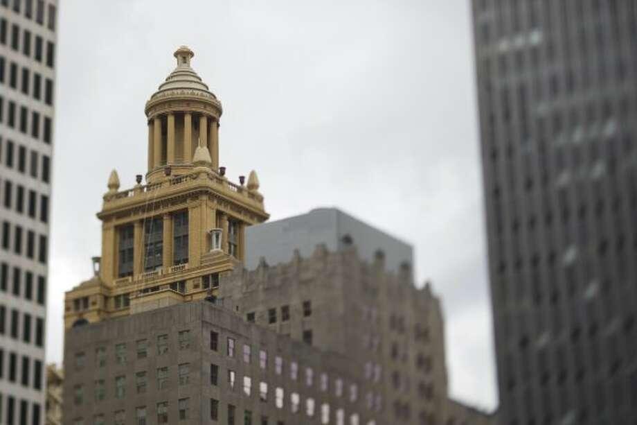 Visit the cupola of the Niels Esperson Building.     (Nick de la Torre / Houston Chronicle)