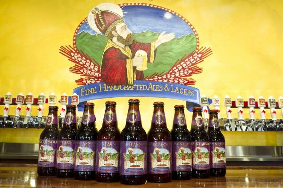 Take the St. Arnold's Brewing Company tour.  (Brett Coomer / Houston Chronicle)