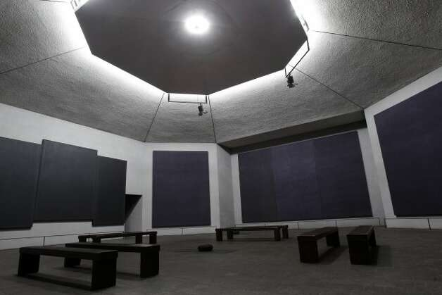 Sit in silence for an entire hour at the Rothko Chapel. (Melissa Phillip / Houston Chronicle)