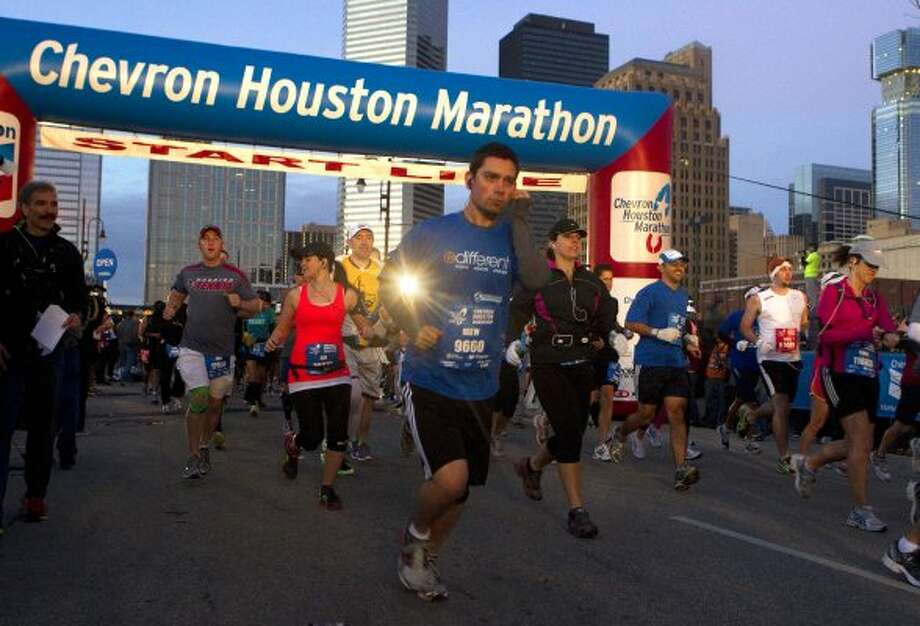 Run the Houston Marathon. (Cody Duty / Houston Chronicle)