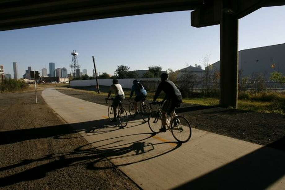 Ride your bike every mile of the city's Bikeway Program. (Johnny Hanson / Houston Chronicle)