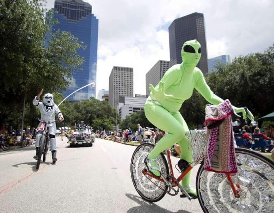 Enter the Art Car Parade. Wear a costume.  (CHRON / Houston Chronicle)