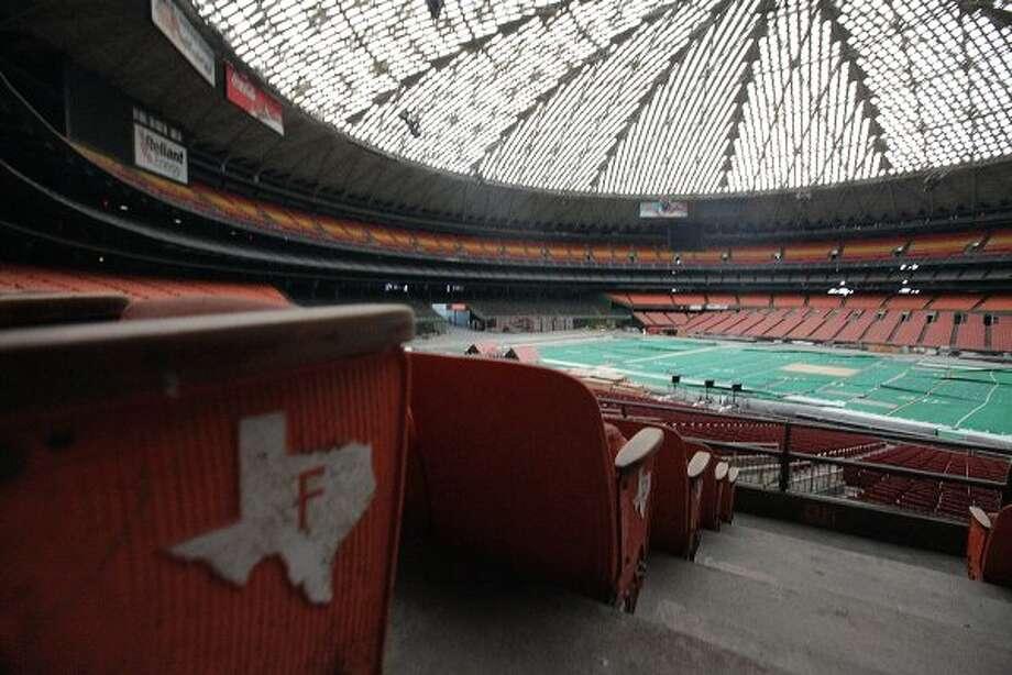 Tour the Astrodome.  (Mayra Beltran / Houston Chronicle)