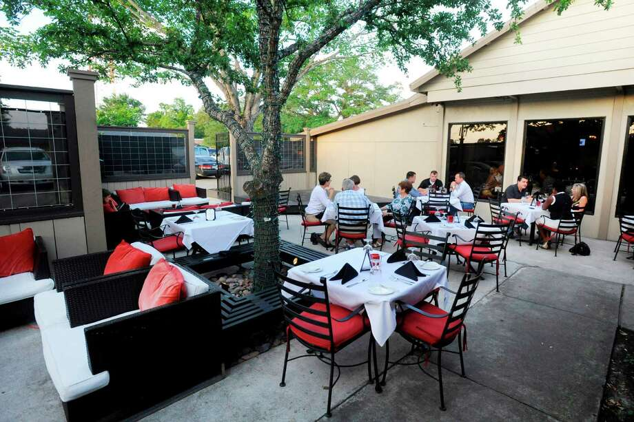 A view of the patio at The Grill by Arfeen, Smith and Payne located at 6680 Calder Avenue in Beaumont.  Tuesday, May 10,  2011. 