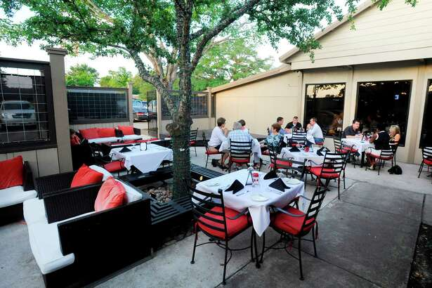 A view of the patio at The Grill by Arfeen, Smith and Payne located at 6680 Calder Avenue in Beaumont. Tuesday, May 10, 2011. Valentino Mauricio/The Enterprise