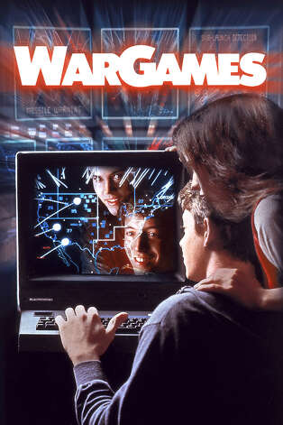 """In 1983's """"War Games,"""" Matthew Broderick's character hacks into a computer that he doesn't realize is at NORAD and starts a """"game"""" of """"Global Thermonuclear War."""" The computer --  WOPR (War Operation Plan Response), AKA Joshua -- isn't trying to kill anyone, per se. It just almost starts a global nuclear holocaust while trying to win the game. Photo: MGM / SL"""