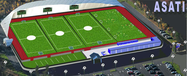 This is an artist rendering of the Danbury Sports Dome. Photo: Contributed Photo