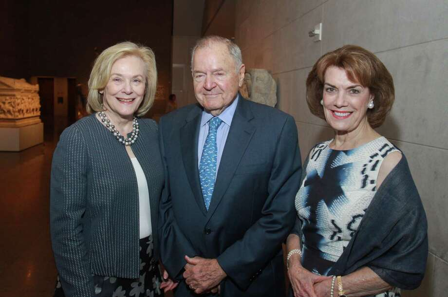 Curators Michael Brown, left, and Peter Kenny Photo: Gary Fountain / Copyright 2012 Gary Fountain.