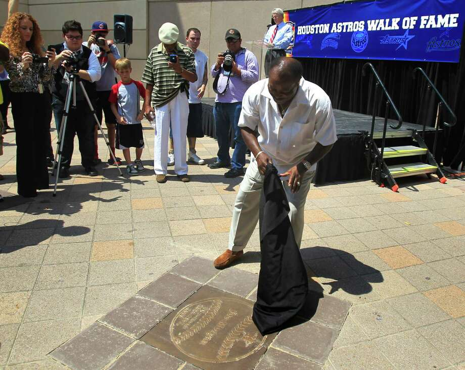 Joe Morgan has great memories from his time as second baseman with the Colt .45s/Astros. Morgan was added to the Astros Walk of Fame on Friday. Photo: Cody Duty / © 2011 Houston Chronicle