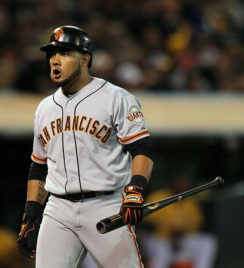 Rule: Full playoff share to Melky Cabrera - SFGate
