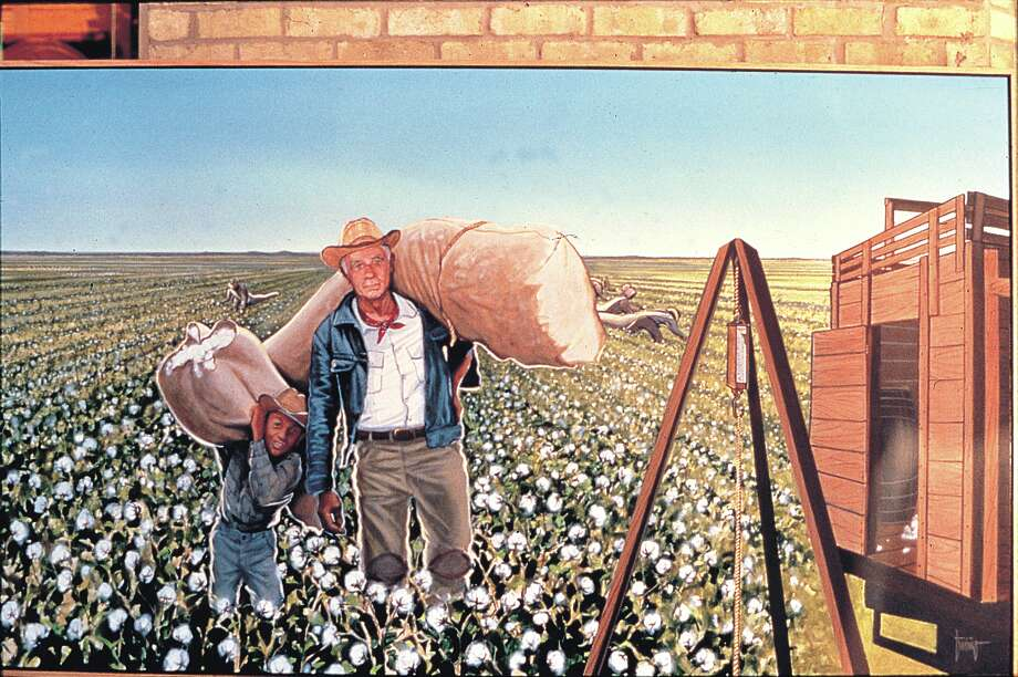 Painting by San Antonio artist Jesse Trevino Photo: Express-News