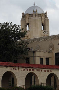 Thomas Jefferson High School, only the third high school built in San Antonio, was an ambitious undertaking in 1932, at a cost of more than $1.25 million. Read More Photo: Kin Man Hui, San Antonio Express-News / @2012 San Antonio Express-News