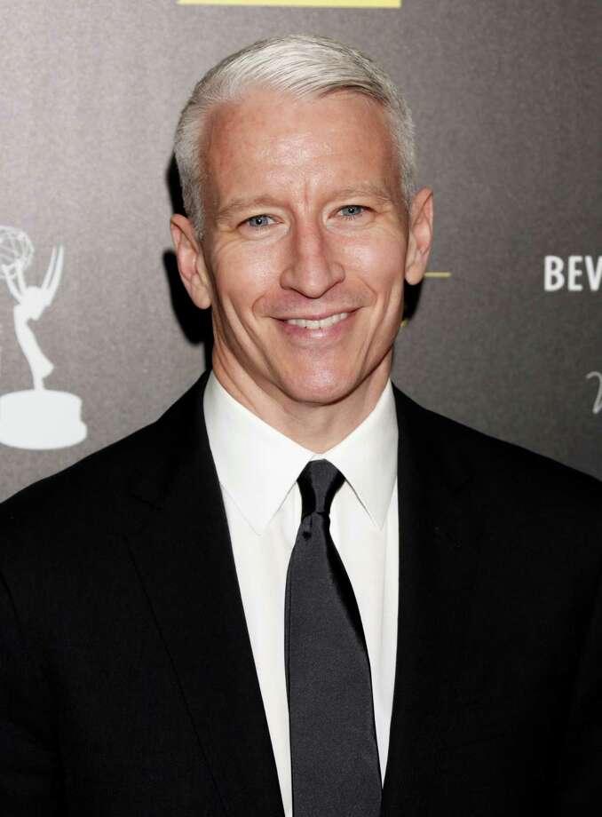 Anderson Cooper arrives. Photo: TODD WILLIAMSON/INVISION/AP