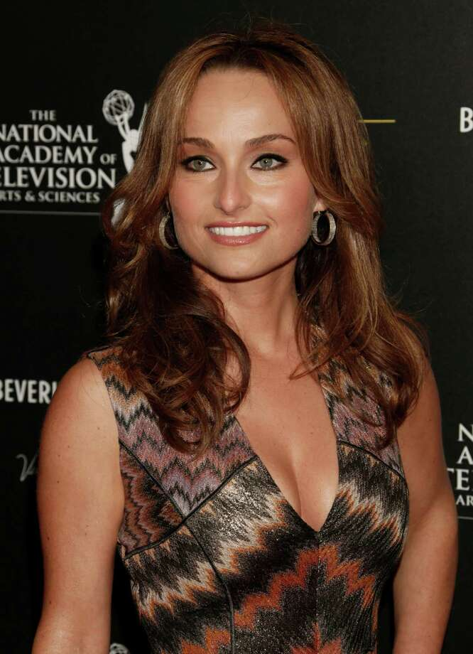 Giada De Laurentiis arrives. Photo: TODD WILLIAMSON/INVISION/AP