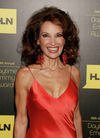 Susan Lucci arrives at the 39th Annual Daytime Emmy Awards at the Beverly Hilton Hotel on Saturday, June 23, 2012, in Beverly Hills, Calif. Photo: TODD WILLIAMSON/INVISION/AP