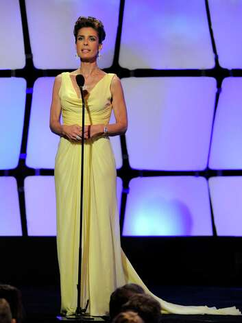 Kristian Alfonso appears onstage at the 39th Annual Daytime Emmy Awards at the Beverly Hilton Hotel on Saturday, June 23, 2012 in Beverly Hills, Calif. Photo: CHRIS PIZZELLO/INVISION/AP