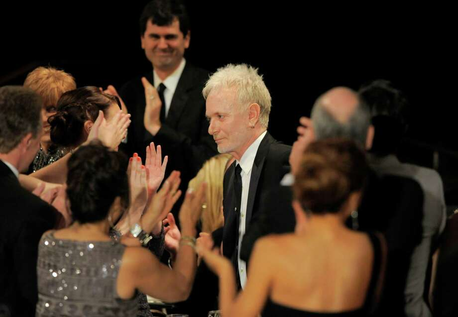"Anthony Geary walks onstage to accept the award for lead actor in a drama series for ""General Hospital"" onstage. Photo: CHRIS PIZZELLO/INVISION/AP"
