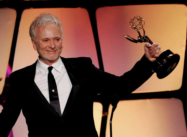 BEVERLY HILLS, CA - JUNE 23:  Actor Anthony Geary accepts the award for Outstanding Lead Actor onstage at the 39th Annual Daytime Entertainment Emmy Awards at the Beverly Hilton Hotel on June 23, 2012 in Beverly Hills, California.  (Photo by Kevin Winter/Getty Images) Photo: Kevin Winter, Getty Images / Getty Images