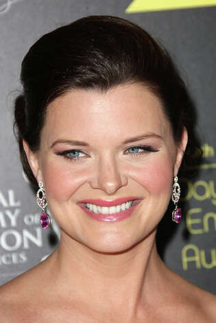 BEVERLY HILLS, CA - JUNE 23: Actress Heather Tom attends the 39th Annual Daytime Entertainment Emmy Awards at The Beverly Hilton Hotel on June 23, 2012 in Beverly Hills, California.  (Photo by Frederick M. Brown/Getty Images) Photo: Frederick M. Brown, Getty Images / Getty Images