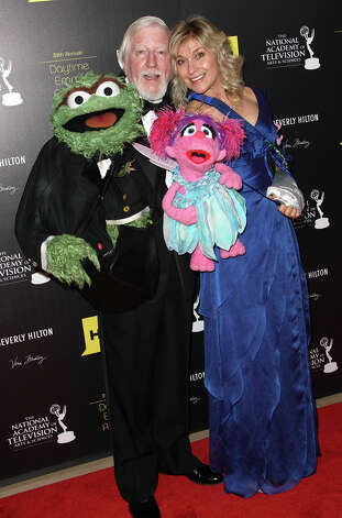 BEVERLY HILLS, CA - JUNE 23:   Caroll Spinney (L) and Leslie Carrara-Rudolph attend the 39th Annual Daytime Entertainment Emmy Awards at The Beverly Hilton Hotel on June 23, 2012 in Beverly Hills, California.  (Photo by Frederick M. Brown/Getty Images) Photo: Frederick M. Brown, Getty Images / Getty Images